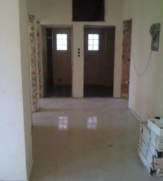 ανακαίνιση μπάνιου, αλλαγή πόρτας
